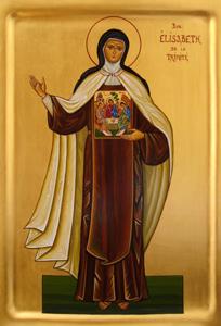 Icône sainte Elisabeth de la Trinité