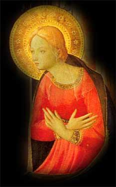 Vierge de l'Annonciation de Fra Angelico